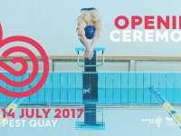 17. FINA Világbajnokság Nyitóünnepség - Víz, látvány és művészet